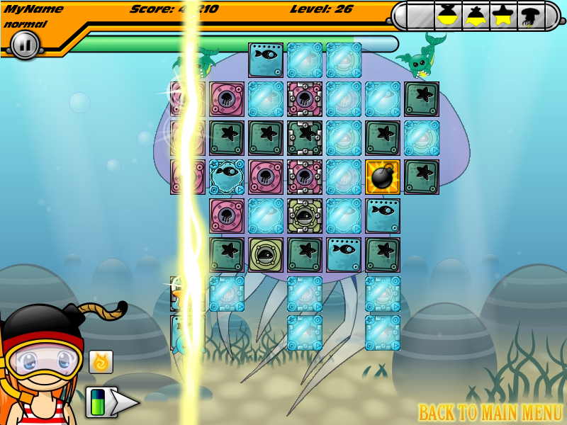 Screenshot of Magic Blast